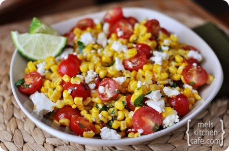Great summer side dish! Mexican Corn Salad