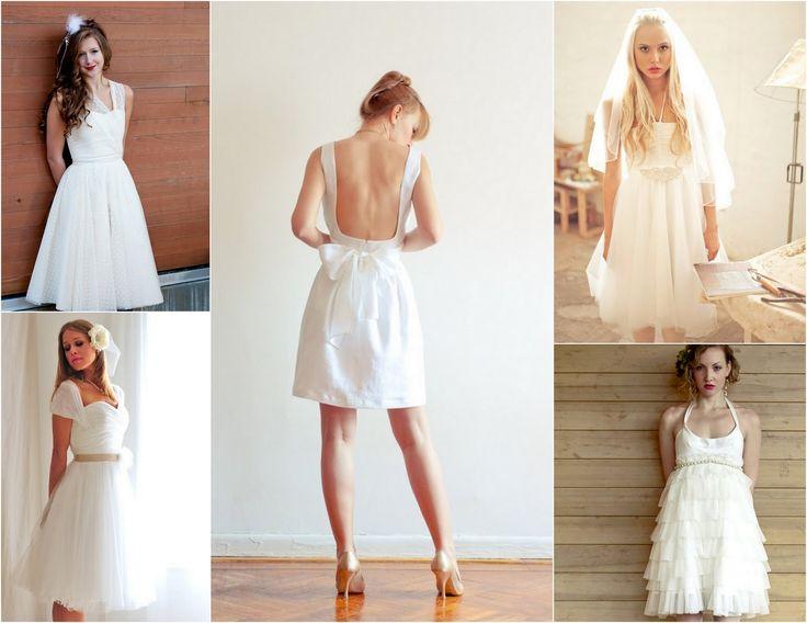 More short wedding dress inspiration find more wedding for White linen dress for beach wedding