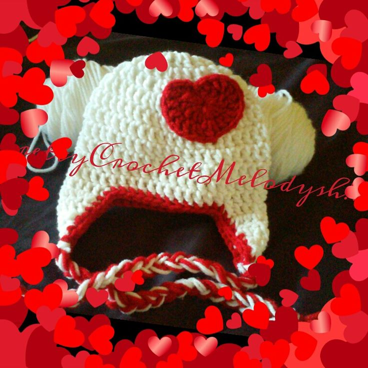 Red heart perfect for valentines