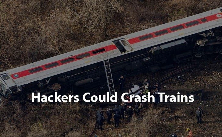 ProDefence Ltd Hackers Could Crash Trains by Hacking Rail Traffic System