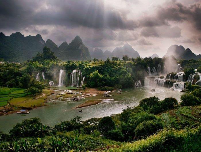 27 Alam Terindah Wallpaper Pemandangan Alam Ciptaan Tuhan Memang Tiada Duanya Alam Semesta Ini Adalah Salah Satu Karunia Tuhan Y Di 2020 Pemandangan Air Terjun Dunia