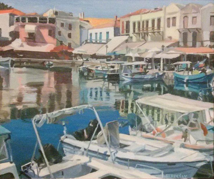 Crete, 25x30cm, acrylic on canvas