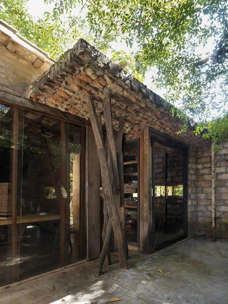 El gabinete de arquitectura / Solano Benitez