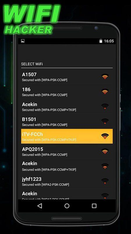 new wifi hack app for android