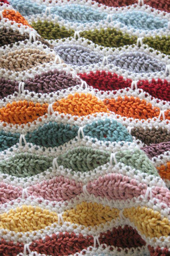Blanket Crochet Pattern #diy #crafts
