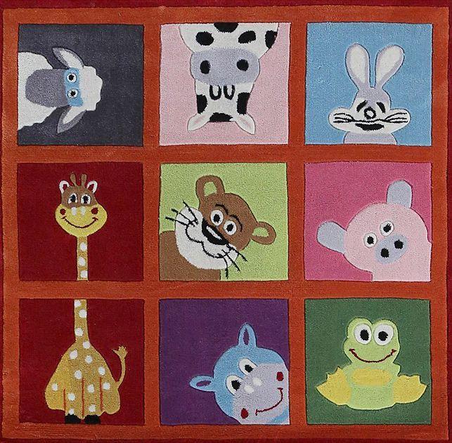 Happy Rugs w Limango - dywan do pokoju dziecięcego Małe Zoo