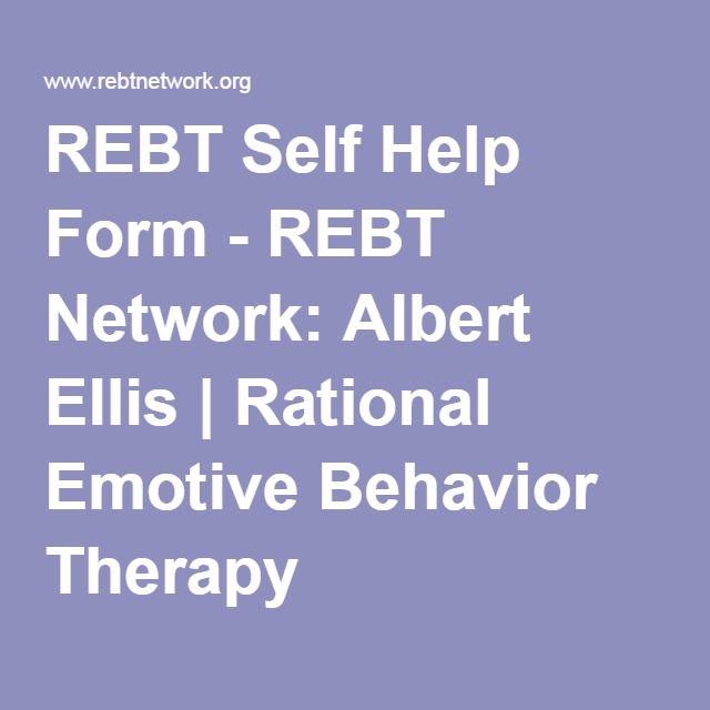 The benefits of rational emotive behavior