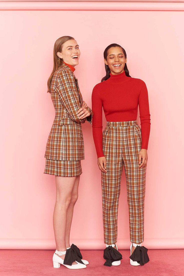 Checked Out - Heritage checks continue their reign, touching everything from blazers to skirts to pants with a fun and directional spin. Oscar de la Renta, Emilia Wickstead, Tibi and Chloé are just a few delivering nuanced versions from mix-matched checks to bold colors.