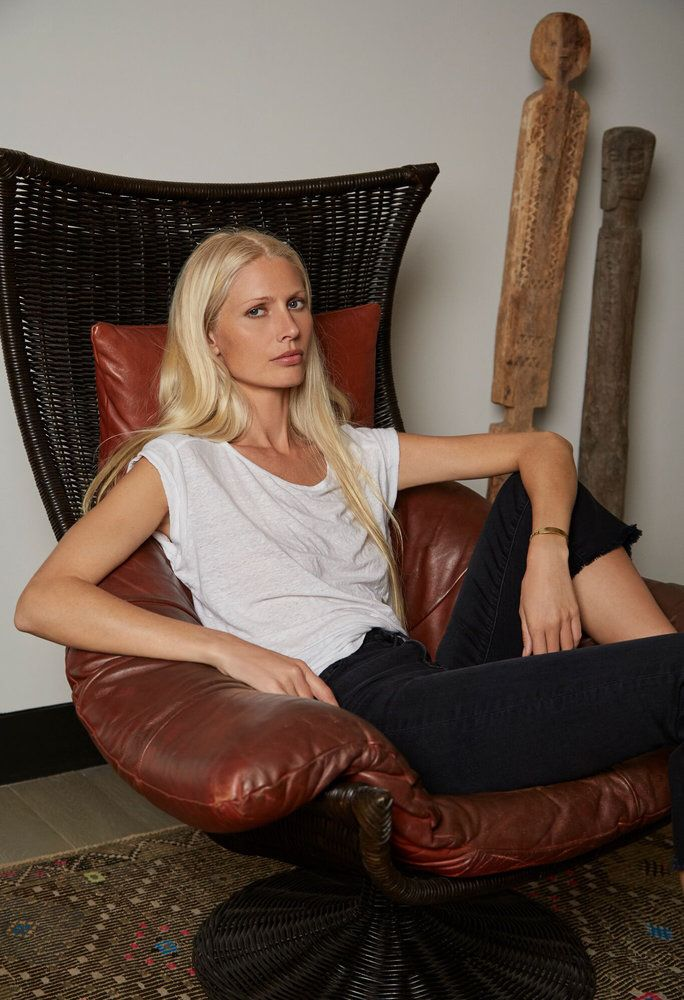 '90s Supermodel Kirsty Hume Returns with a Chic New Collab