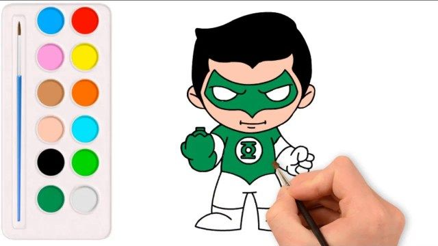 Amazing Picture of Green Lantern Coloring Pages | Lego ...