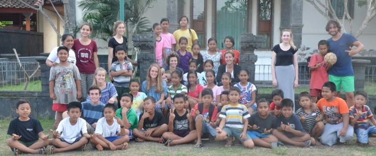 Helpers at Volunteer Programs Bali. Our mission is to provide, with the help of volunteers who come from all over the world, classes and events to inspire and empower the Balinese children and their communities, throughout all socio-economic classes. To read more about the helpers please click on the link below.