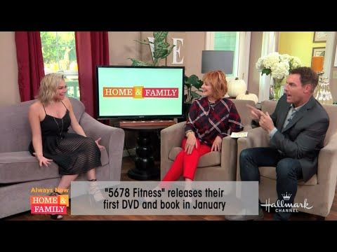 Kym Johnson Talks 5678 Fitness and Book Release on Home and Family TV