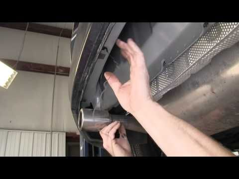 Installation of a Trailer Hitch on a 2013 Volvo C30 - etrailer.com - YouTube
