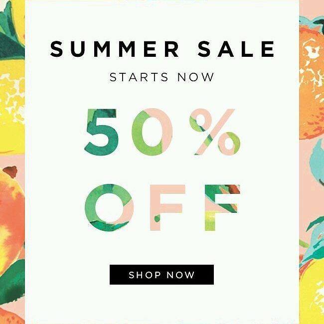 Don't miss our sales until August 13th!   #summer #sales #summercollection