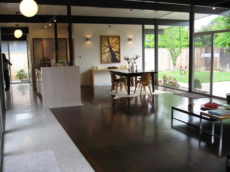 1000 ideas about eichler house on pinterest joseph for Eichler flooring