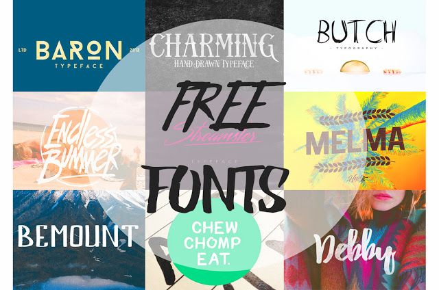 55 Best Quality Fonts Free [ Part 5] : Font Keren