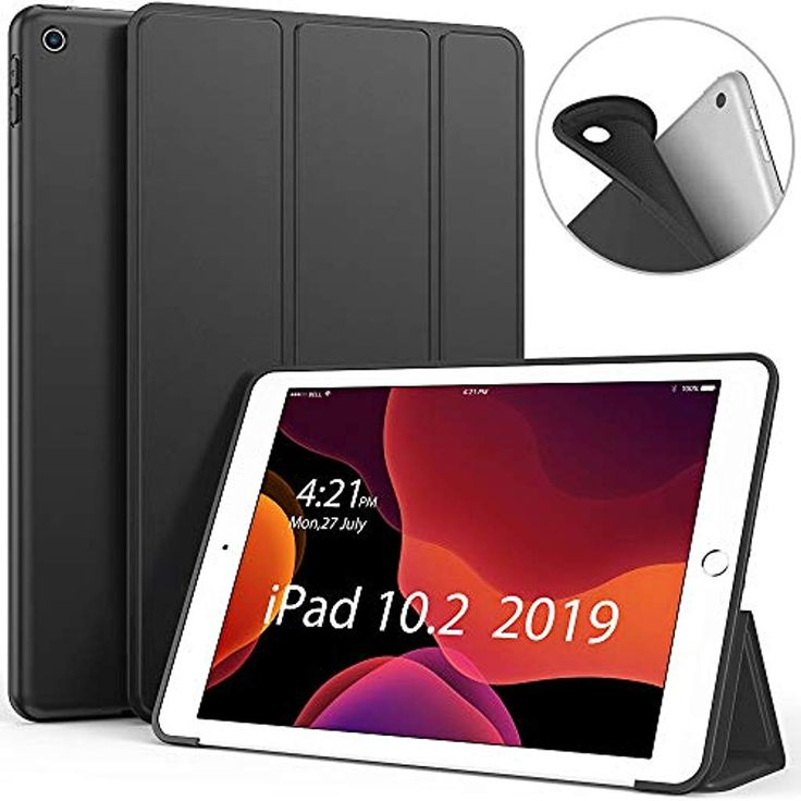 Luvfun Hülle für iPad 10.2 Schutzhülle für iPad 20197. Generation mit Auto S…