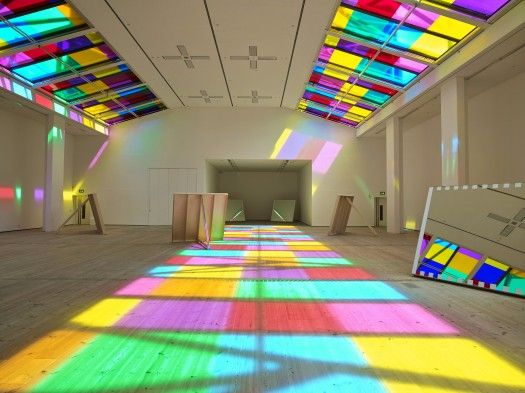 BALTIC Centre for Contemporary Art, Gateshead presents the work of Daniel Buren widely considered to be France's greatest living artist