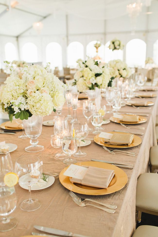 blush ivory gold tablet setting breathtaking tented romantic wedding at the oak 39 s club in. Black Bedroom Furniture Sets. Home Design Ideas