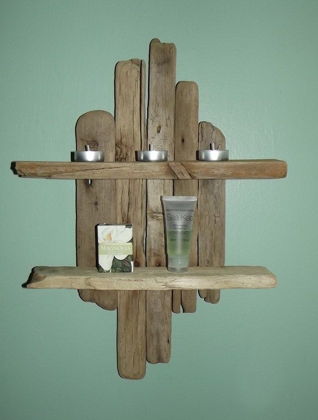Best 25 driftwood shelf ideas on pinterest custom for Driftwood crafts to make