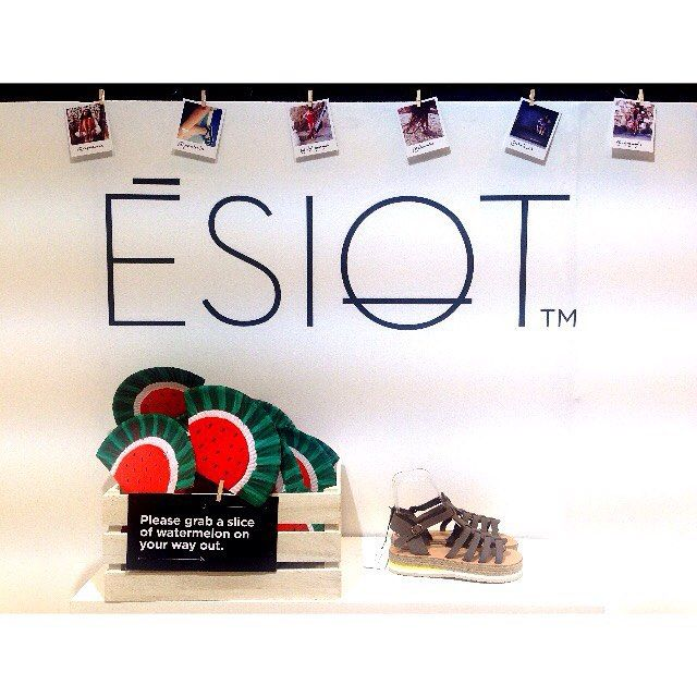 "ESIOT Summer Collection 2016 was presented at fashion trade show ""Who' s next"", in Paris."