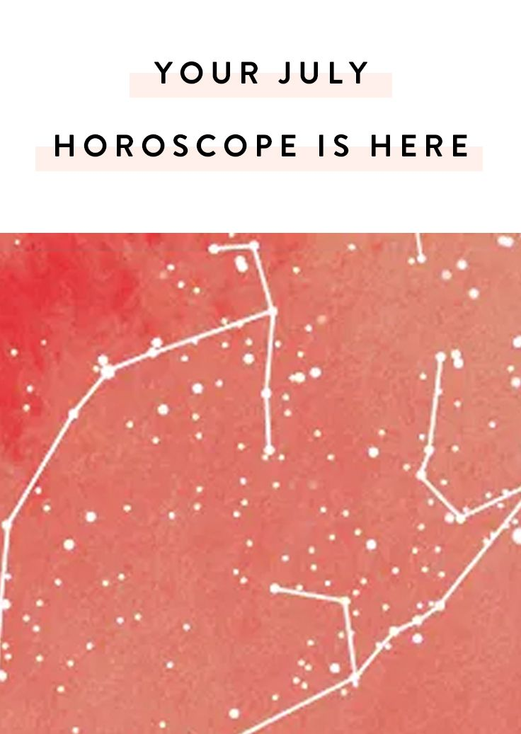 Your July Horoscope Is Here via @PureWow