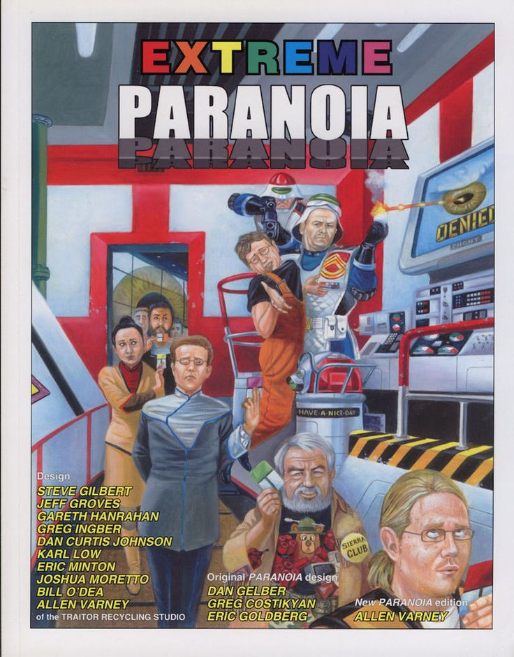 PARANOIA Extreme Paranoia