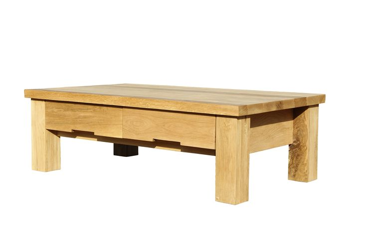 A custom Dhoya coffee table with drawers - this style is often referred to as a Dutch Coffee Table.
