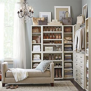 Pottery Barn -- Build Your Own Modular Closet