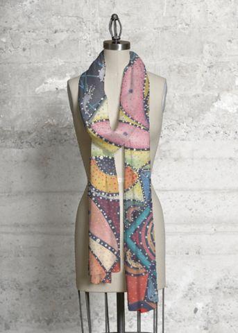 Modal Scarf - Abstract Fountain mirr by VIDA VIDA OW3RZzbFI7