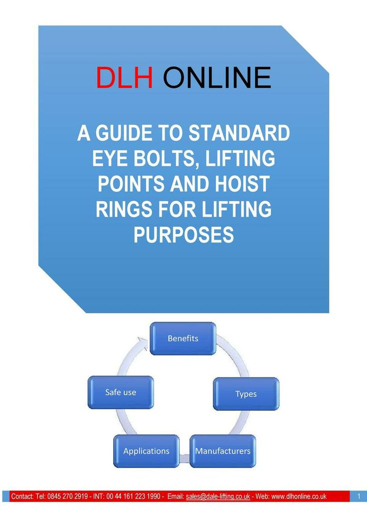 Essential guide to eyebolts and hoist rings for ifting purposes