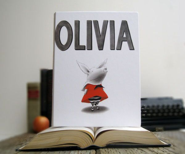 Olivia Book iPad Tablet Cover Case- (iPad / iPad Air / Kindle Fire 8.9 / Nexus 10 / Samsung 10.1 / Hardcover / Book) by chicklitdesigns on Etsy https://www.etsy.com/listing/91200306/olivia-book-ipad-tablet-cover-case-ipad
