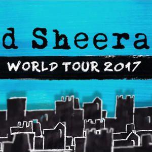 Ed sheeran world tour 2017