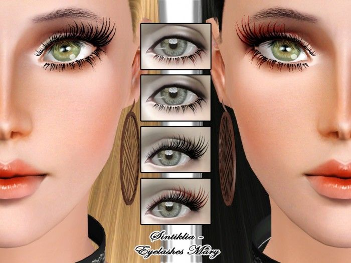 FM eyelashes Mary by Sintiklia • Sims 3 Downloads CC Caboodle