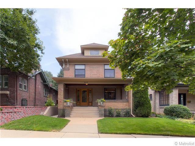 Denver Homes for Sale - Denver Square in Country Club Neighborhood, near Cherry Creek.