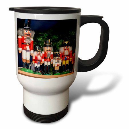 3dRose Nutcrackers for sale, Rothenburg, Germany, Travel Mug, 14oz, Stainless Steel
