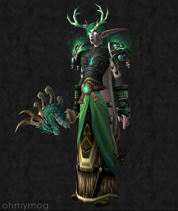 Night elf costume wow