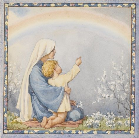 The Rainbow by Margaret Winifred Tarrant