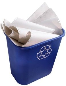 Paper recycling is a very tedious process. It is by far more intricate than manufacturing with virgin materials.