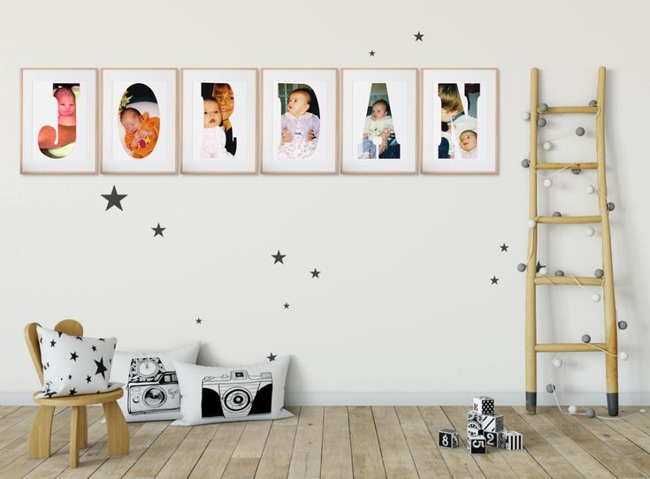 Personalized Photo Collage, Custom Letter Collage, Personalized Photo, Alphabet Letter Collage, Photo Gifts, Letter Photo, Digital File
