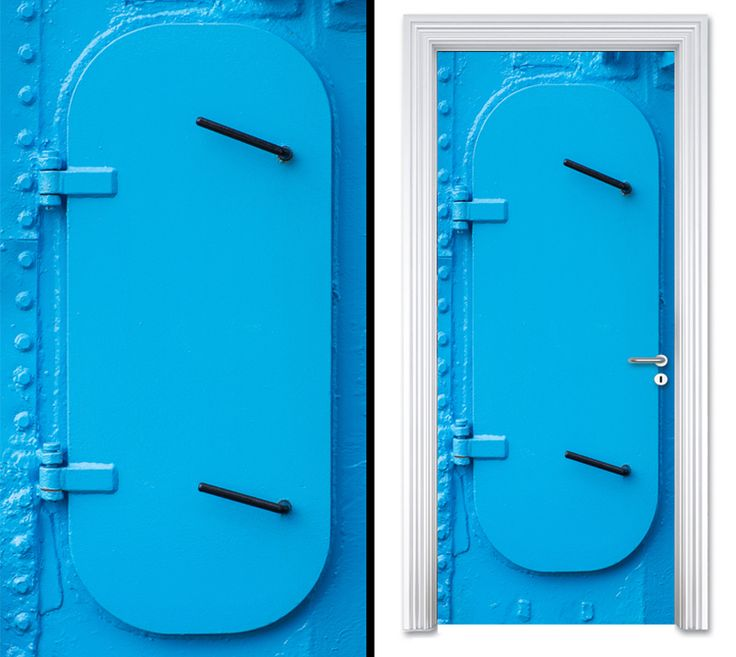 Door sticker SHIP DOOR by Sticky!!!