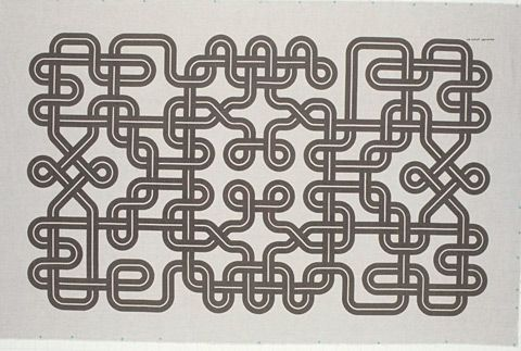 knots by Alexander Girard (1972)Wall Hanging