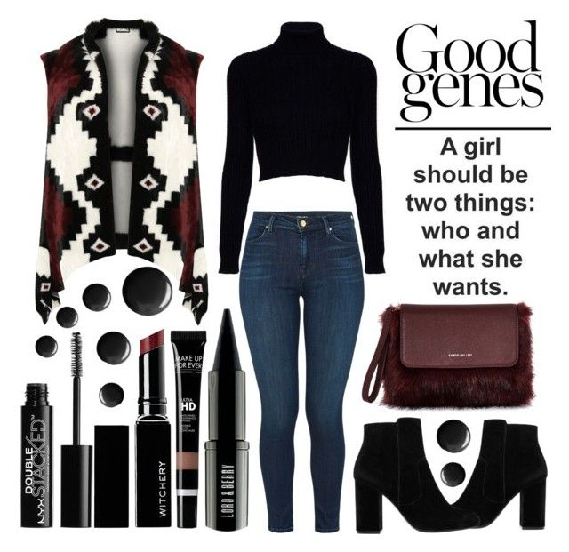"""""""Good Jeans Is In Your DNA"""" by latoyacl ❤ liked on Polyvore featuring Jack Wills, MANGO, WearAll, J Brand, Witchery, Lord & Berry, Topshop, NYX and plus size clothing"""