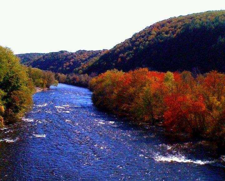 lehigh and delaware rivers meet in