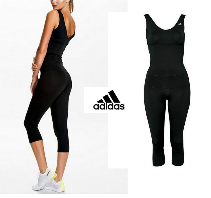 Amazing Adidas Womens Studio Pure All In One Exercise / Fitness Jumpsuit G71574 Rrpu00a350 | EBay