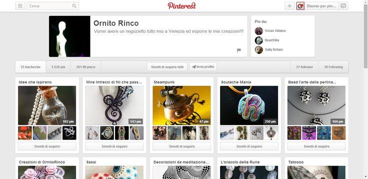 Ornito Rinco Profile on Pinterest. Handmade italian jewelry.
