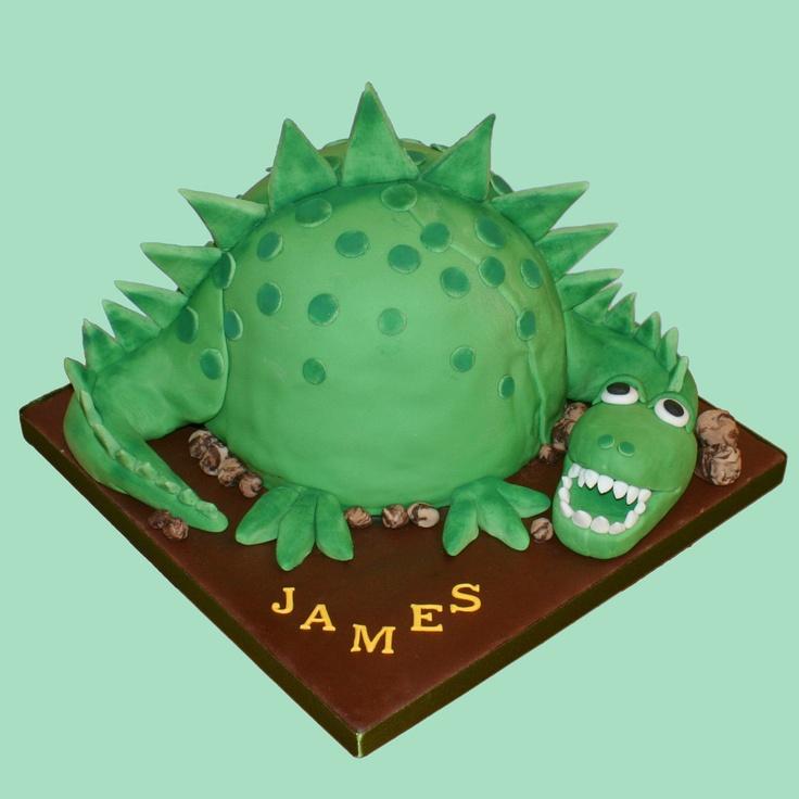 Dinosaur cake idea