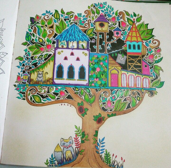 Enchanted Forest Coloring BookForests