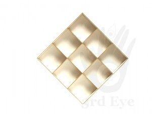 TEBOX000 #shadowbox 20x20x2,8cm 9 compartments from 3rd Eye <3 http://3rdEyeCraft.com