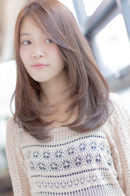 Healthy Hazel layer semi di | Jiyugaoka-Gakugeidaigaku-Nakameguro beauty salon Maria by afloat hair style | Rasysa and (Rashi)